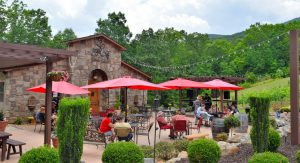 Three of our favorite cabins are within walking distance of Serenity Cellars!